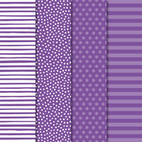 dot, stripe, and polka-dot scrapbook paper