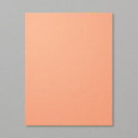 muted orange paper
