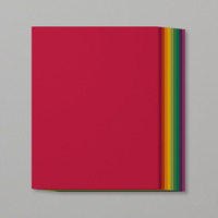 standard rainbow cardstock