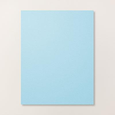 sky blue paper