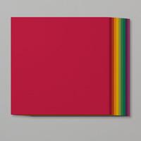 rainbow cardstock