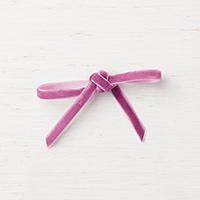1/4 pink velvet ribbon