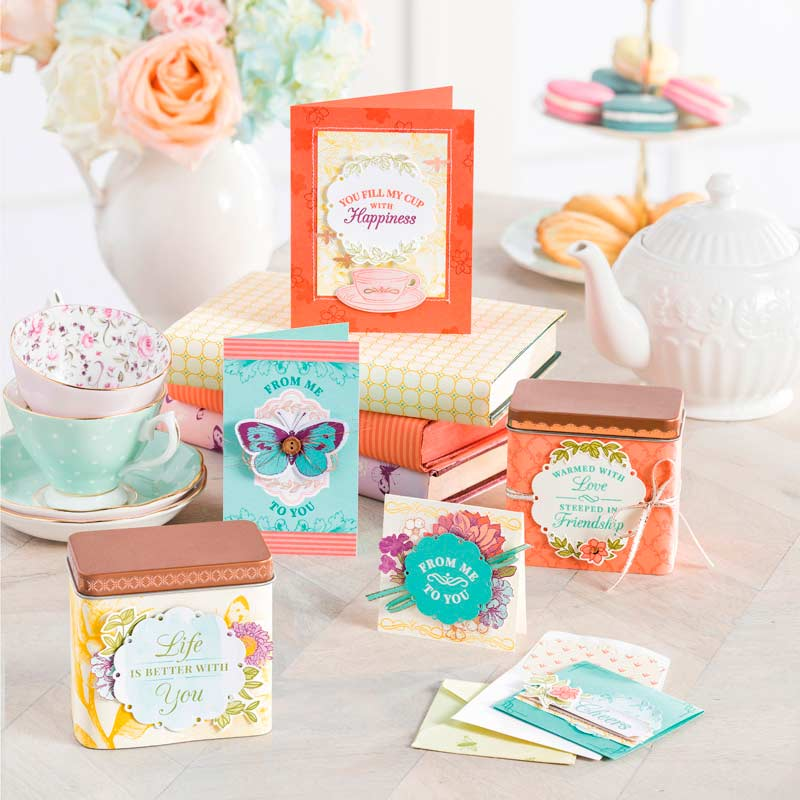 Tea Room Memories & More Card Pack