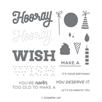 Broadway Birthday Photopolymer Stamp Set