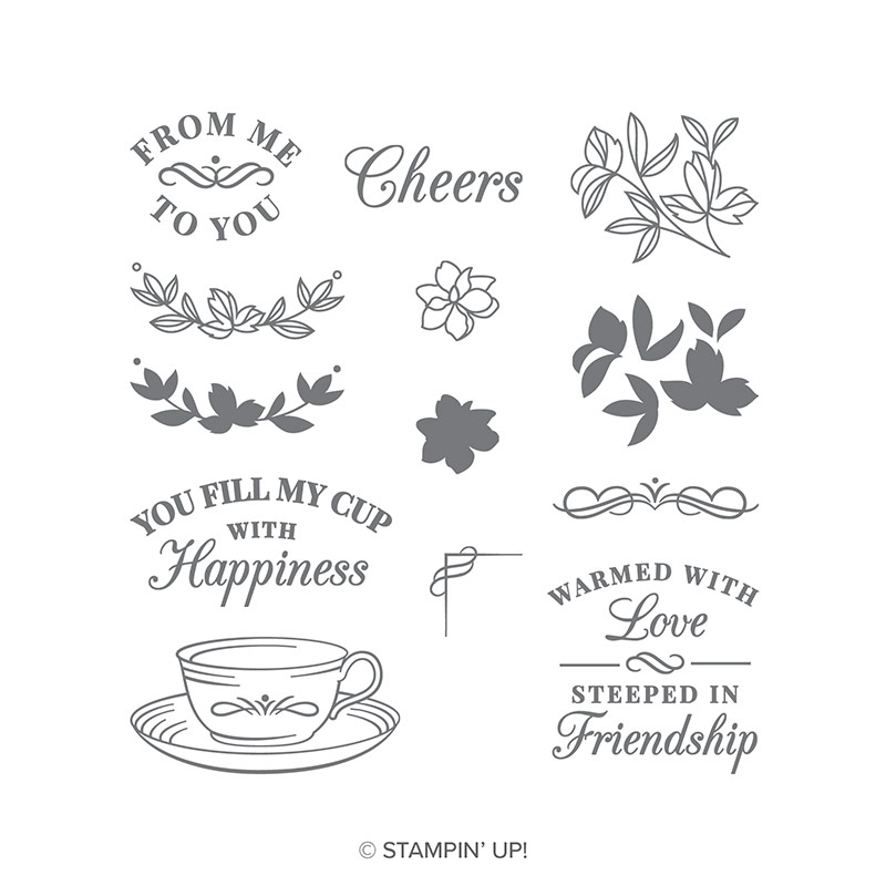 Time For Tea Photopolymer Stamp Set