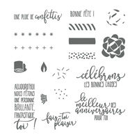 Anniversaire idéal Photopolymer Stamp Set (French)