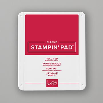 classic red ink pad