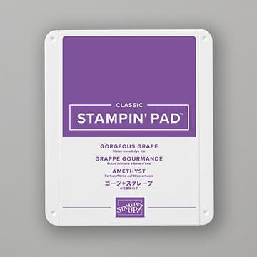 purple ink pad
