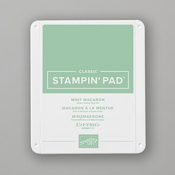 mint green stamp pad