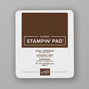 brown ink pad