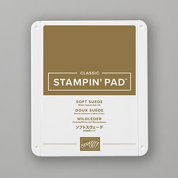 soft brown ink pad