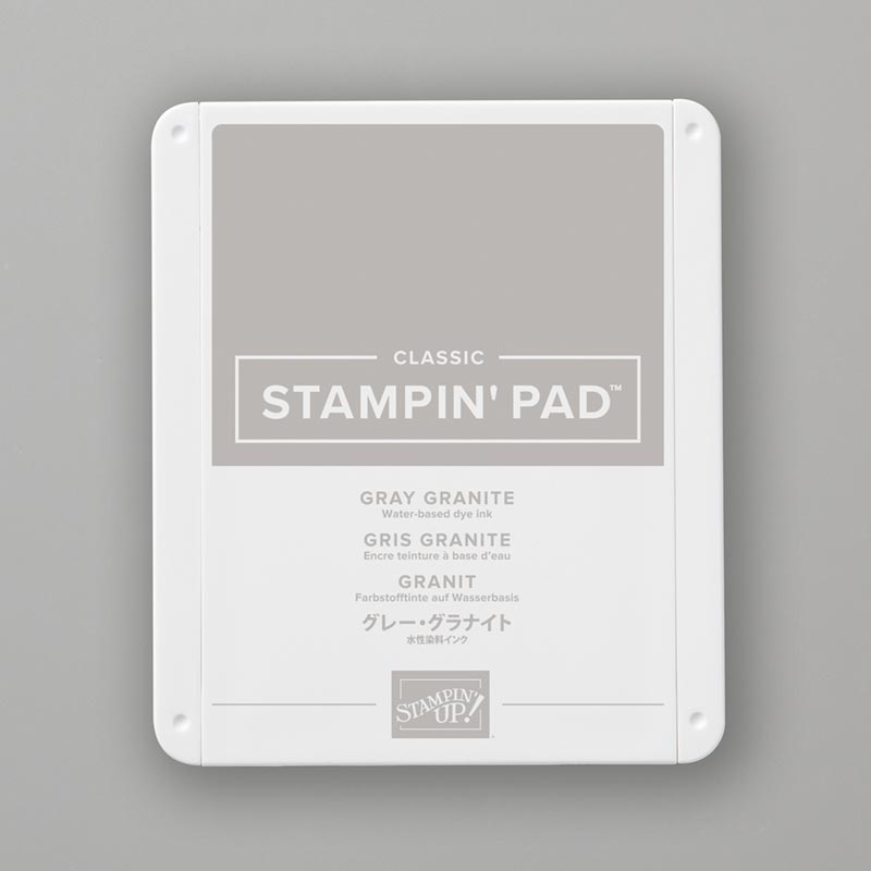 Gray Granite Classic Stampin' Pad
