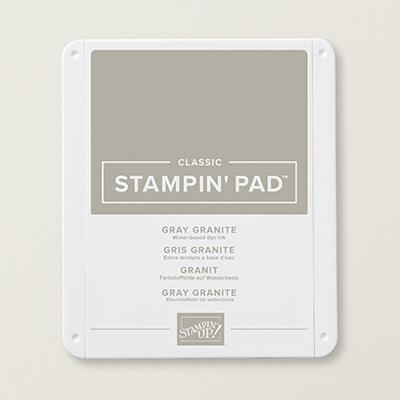 クラッシックStampin' Pad・グレー・グラナイト