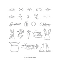 rabbit bunny stamp set