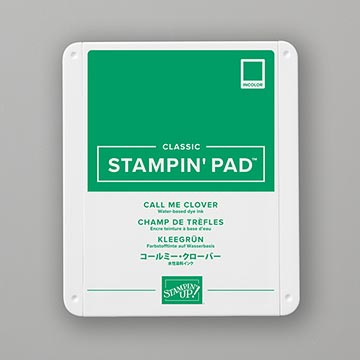 green stamp pad