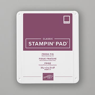 purple stamp pad
