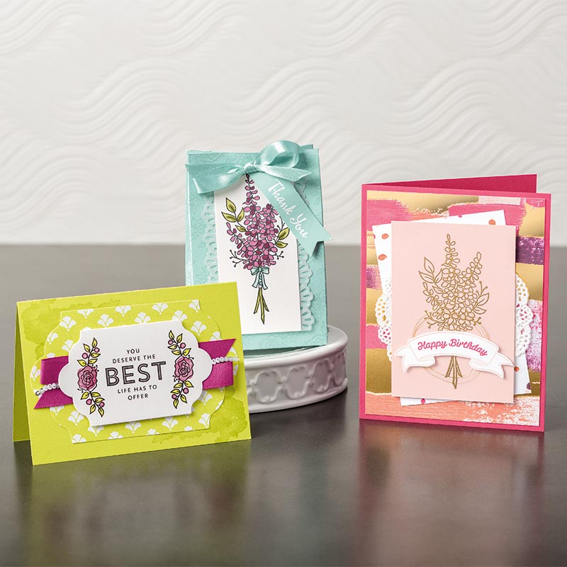 Lots of Lavender stampin up stamps