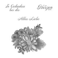 Blumen von Herzen Clear-Mount Stamp Set (German)