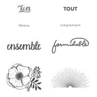 Simplement formidable Clear-Mount Stamp Set (French)