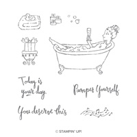 Bubbles & Bubbly Clear-Mount Stamp Set