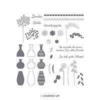 Wunderbare Vasen Photopolymer Stamp Set (German)