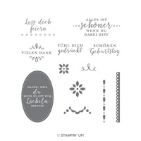 Liebevolle Details Clear-Mount Stamp Set (German)