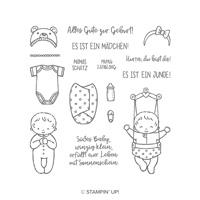 Süßes Baby Clear-Mount Stamp Set (German) SÜSSES BABY