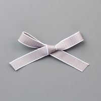 Gray Granite 1/2 (1.3 cm) Textured Weave Ribbon