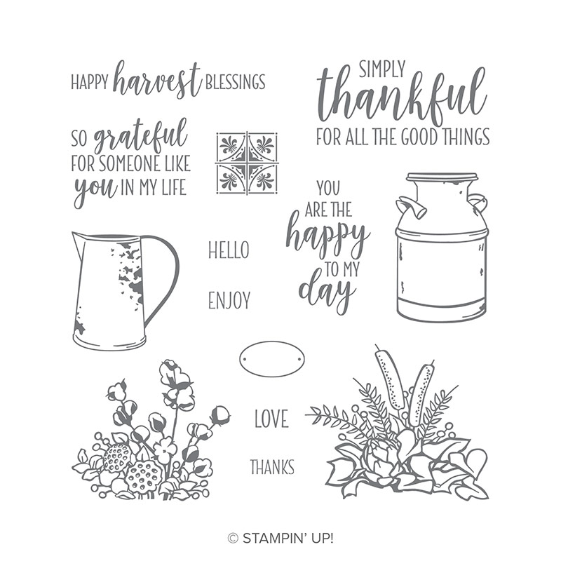 Country Home Photopolymer Stamp Set