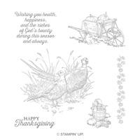 Pleasant Pheasants Clear-Mount Stamp Set
