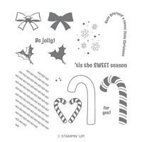 Candy Cane Season Photopolymer Stamp Set