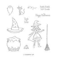 Cauldron Bubble Clear-Mount Stamp Set