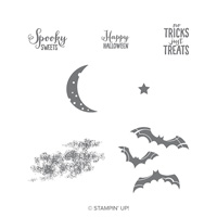 Spooky Sweets Wood-Mount Stamp Set