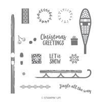Alpine Adventure Photopolymer Stamp Set