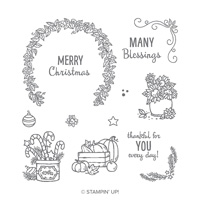 Many Blessings Photopolymer Stamp Set