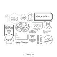 Tags & Tidings Photopolymer Stamp Set