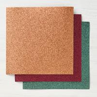 6 x 6インチ(15.2 x 15.2 cm)・グリマーペーパー・ジョイアスノエル