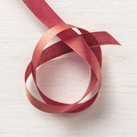 Merry Merlot & Copper 5/8 (1.6 cm) Reversible Ribbon