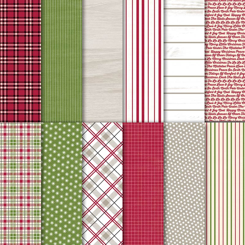 Festive Farmhouse Designer Series Paper