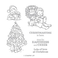 Happiness & Cheer Clear-Mount Stamp Set