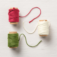Festive Farmhouse Cotton Twine