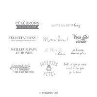 Une autre belle année Clear-Mount Stamp Set (French)