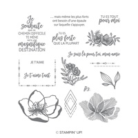 Jolie promenade Photopolymer Stamp Set (French)