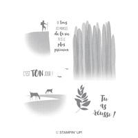 Cueille le jour présent Clear-Mount Stamp Set (French)