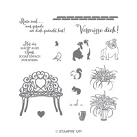 Mein Lieblingsplatz Photopolymer Stamp Set (German)