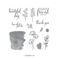 love beauty stamp set