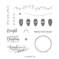 christmas holidays stamp set