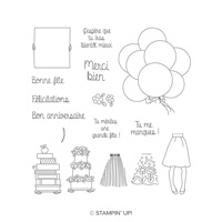 En main propre Photopolymer Stamp Set