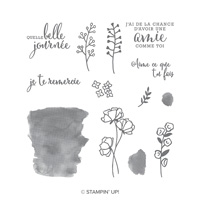 Aime ce que tu fais Photopolymer Stamp Set (French)
