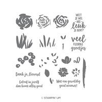 Bloemen zeggen meer Photopolymer Stamp Set (Dutch)